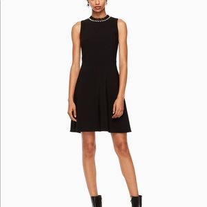 kate spade new york faux pearl embellished dress